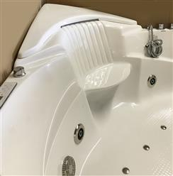 Corner JETTED BATHTUB,Hydromassage,Whirlpool,Air Bubble & waterfall. M3015 - Image 11