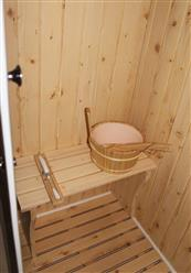 Steam Shower Enclosure with Traditional Sauna 	B001 display Sale - Image 8