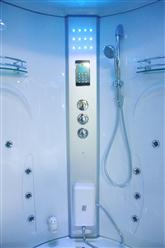 Big Steam Shower Room w / Whirlpool tub,Jacuzzi, Bluetooth Audio. 9011HD - Image 7