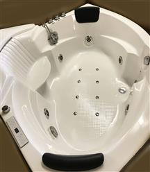 Corner JETTED BATHTUB,Hydromassage,Whirlpool,Air Bubble & waterfall. M3015 - Image 8