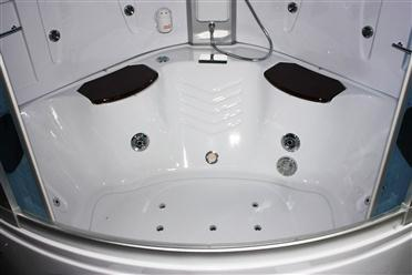 Big Steam Shower Room w / Whirlpool tub,Jacuzzi, Bluetooth Audio. 9011HD - Image 11