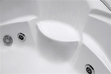 Corner JETTED BATHTUB,Hydromassage,Whirlpool,Air Bubble & waterfall. M3015 - Image 5