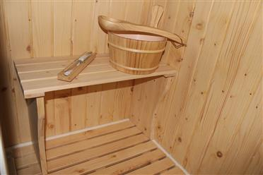 Steam Shower Enclosure with Traditional Sauna 	B001 display Sale - Image 12